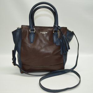 Coach Legacy Mini Tanner Two Tone Crossbody Bag